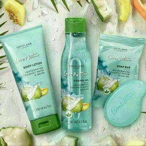 Love Nature Shower Gel Invigorating Coconut Water & Melon